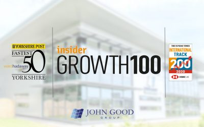 John Good Group scores a hat-trick of awards for growth