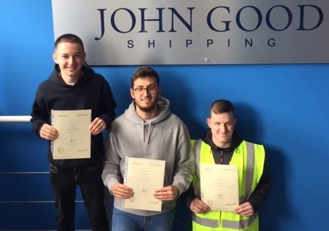 John Good Celebrates Apprentices' Success