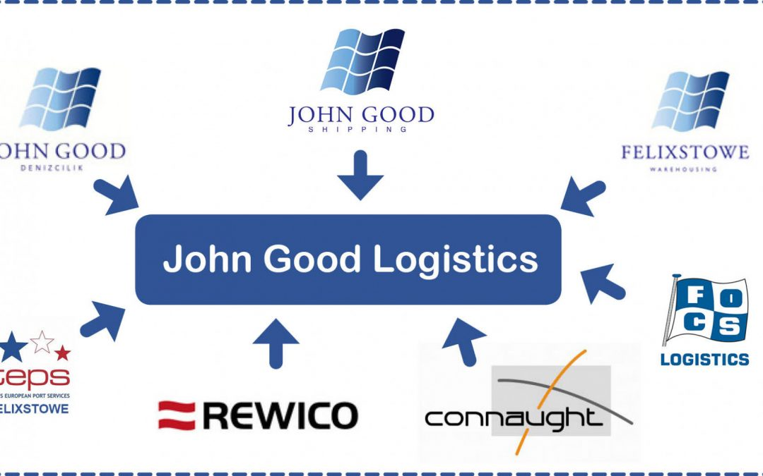 In 2020, six of our businesses will join together to become John Good Logistics Ltd.