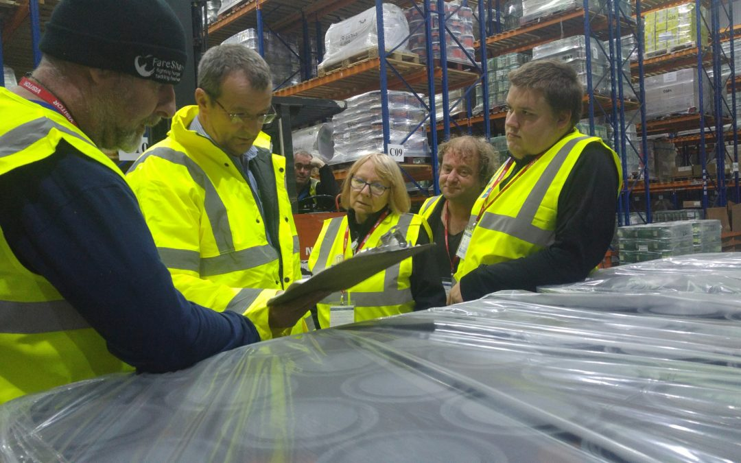 "TEPS gives local charity ""Fareshare Hull"" a tour of their facilities"