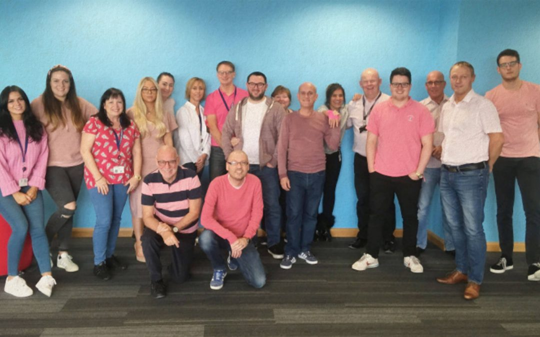 John Good Group Wear It Pink to raise £772.32 for Breast Cancer Now