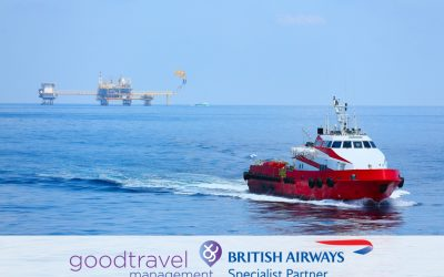 """Good Travel Management appointed """"British Airways Specialist Agent"""" for Marine and Offshore"""
