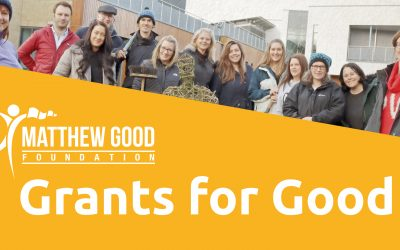 """Matthew Good Foundation reveals first finalists for """"Grants for Good"""""""